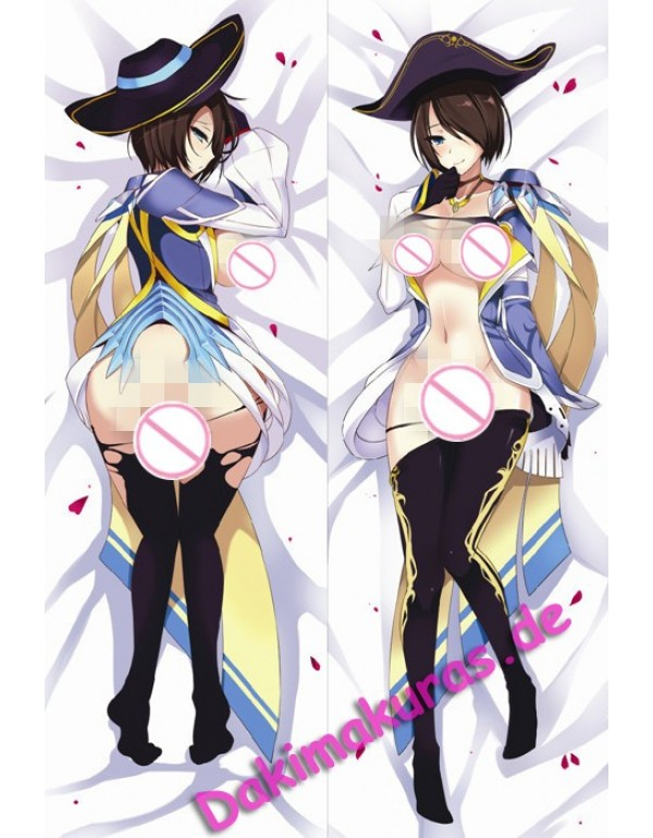 League of Legends Royal Guard Fiora Dakimakura bezug Anime Körper Kissenbezug