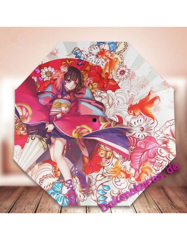 Foldable Anime Regenschirm cheap sale
