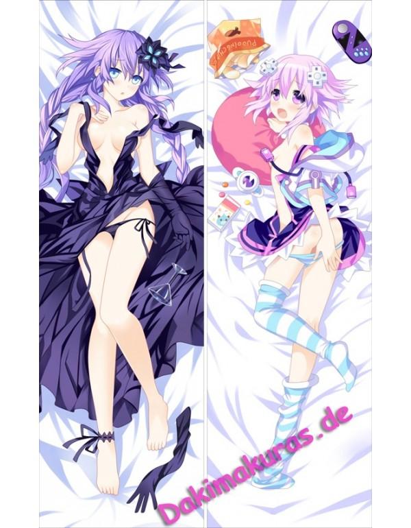 Hyperdimension Neptunia - Neptune + Purple Heart A...