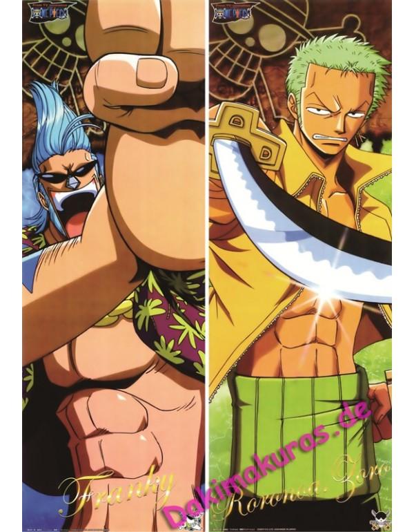 One Piece - Roronoa Zoro Dakimakura kissen Neue Um...