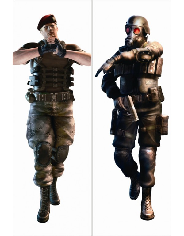 Resident Evil Dakimakura bezug anime Kissenbezug