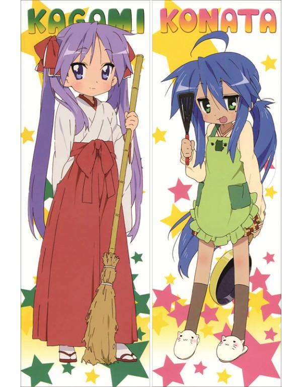 Lucky Star - Kagami Hiiragi Umarmungs anime körpe...