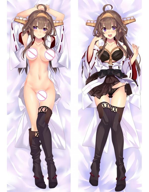 Azur Lane Kongou Anime Körper Dakimakura Japenese...
