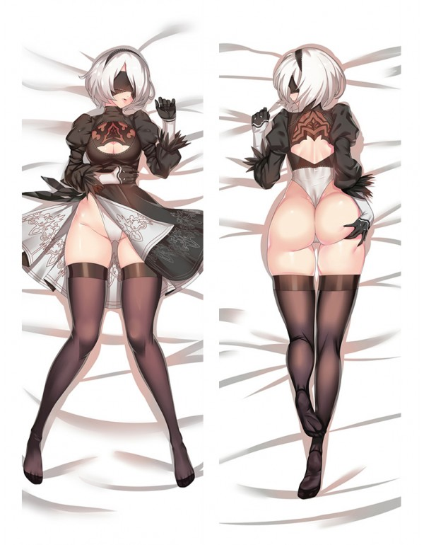 2B - Nier Automata Anime Kissen Dakimakura Umarmun...