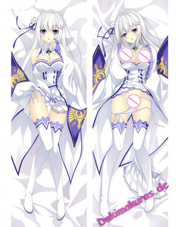 Emilia - Re Zero Anime Kissen Dakimakura Umarmungs...